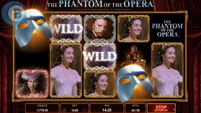Phantom Of The Opera Slot Sites