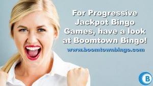 Progressive Jackpot Bingo Games