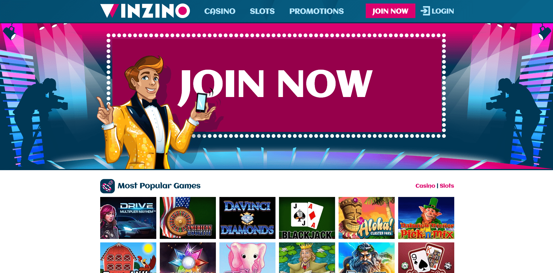Winzino Casino Reviews