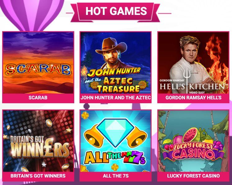 Bid Bingo Hot Games