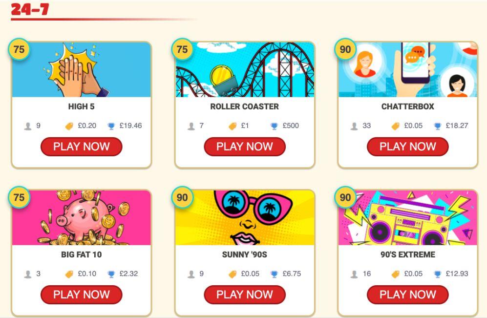 Bingo Hearts 24-7 Bingo Games