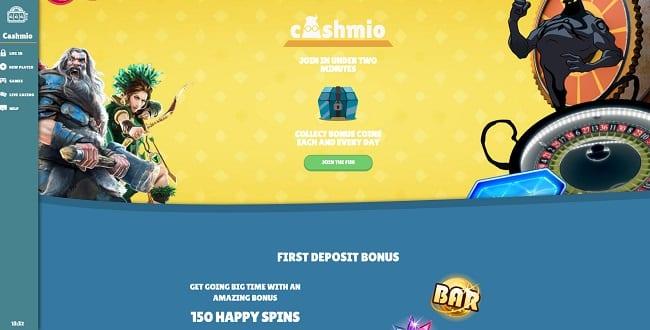 Cashmio Casino Reviews