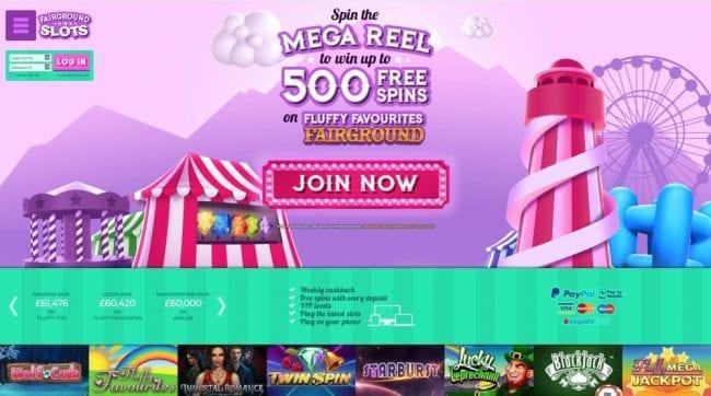 Fairground Slots Reviews