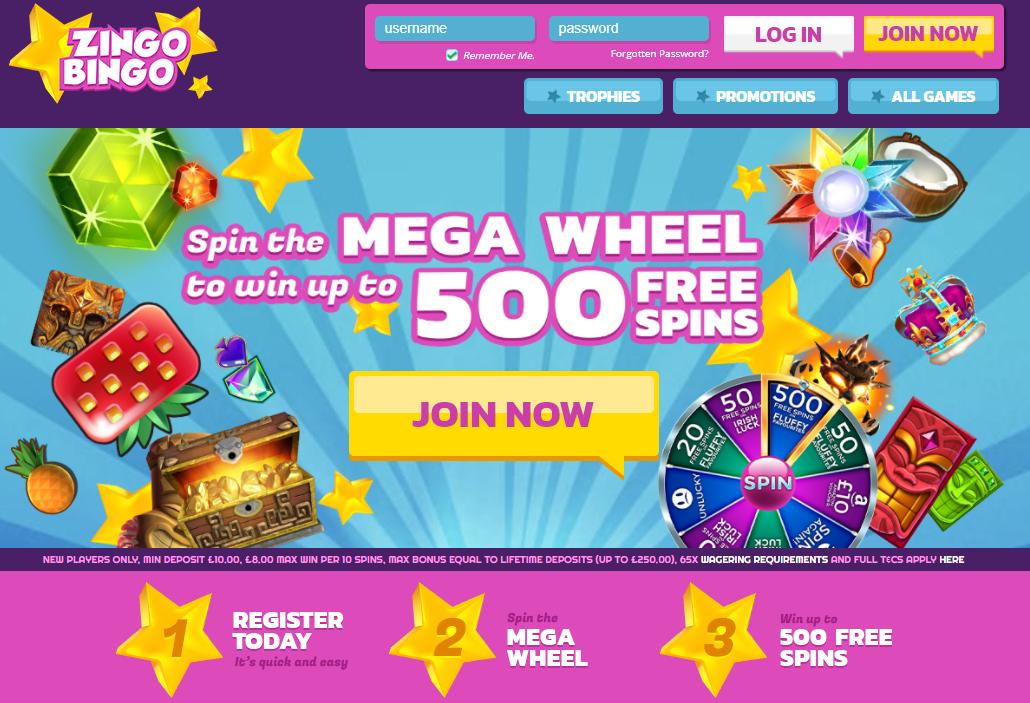 Zingo Bingo Website Review