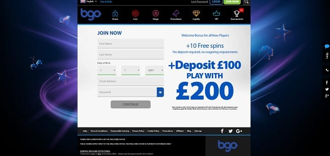 BGO Slots Review – Deposit £100 Play with £200