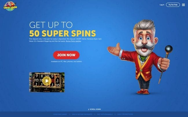 Lucky Louis Casino Reviews