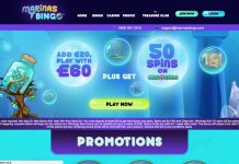 Marinas Bingo Review