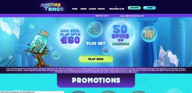 Marinas Bingo Reviews
