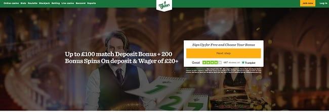 Mr Green Casino Reviews