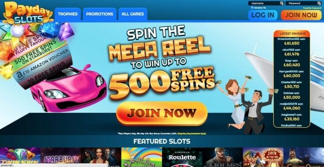 PayDay Slots Reviews