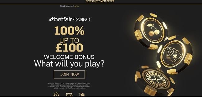 Betfair Casino Review – Get Up To £100 Welcome Bonus