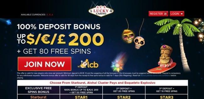 Ace Lucky Casino Reviews
