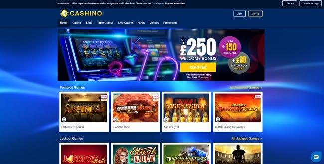 Cashino Casino Reviews