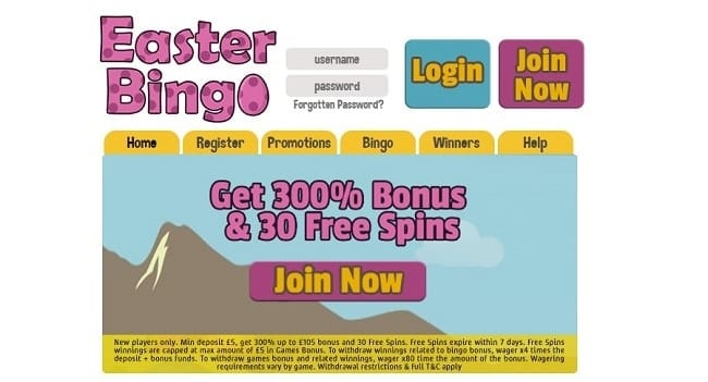 Easter Bingo Reviews