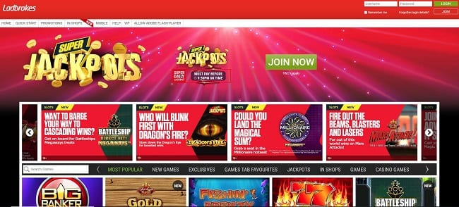 Ladbrokes Games Reviews