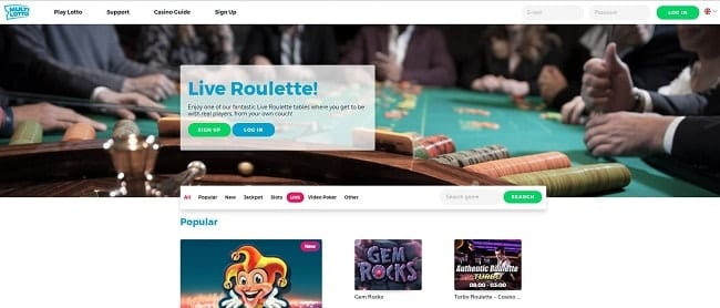 Multilotto Casino Reviews
