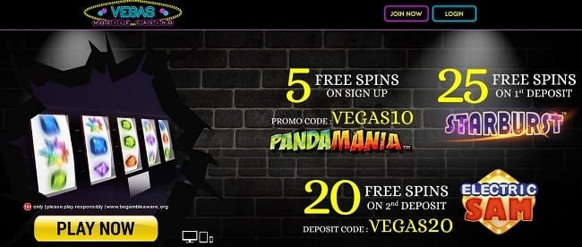 Vegas Mobile Casino Reviews
