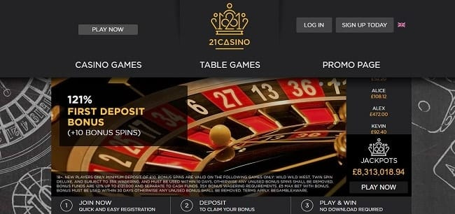 21 Casino Reviews