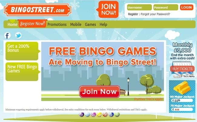Bingo Street Reviews