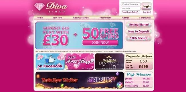 Diva Bingo Reviews