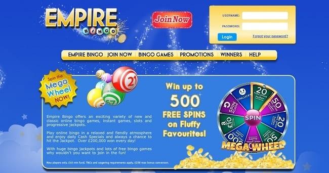 Empire Bingo Reviews