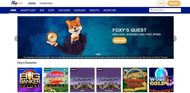 Foxy Casino Reviews