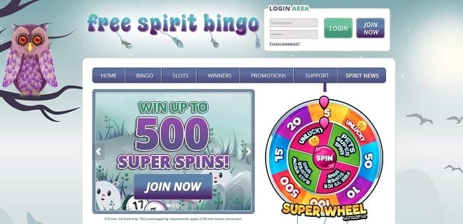 Free Spirit Bingo Reviews