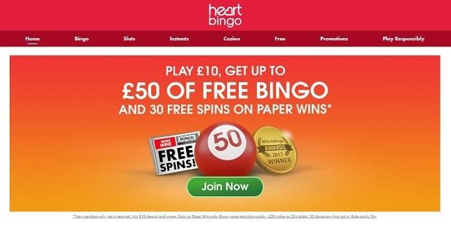 Heart Bingo Reviews