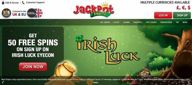 Jackpot Fruity Reviews