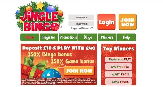 Jingle Bingo Reviews