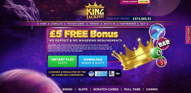 King Jackpot Reviews