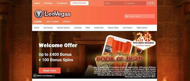 Leo Vegas Reviews