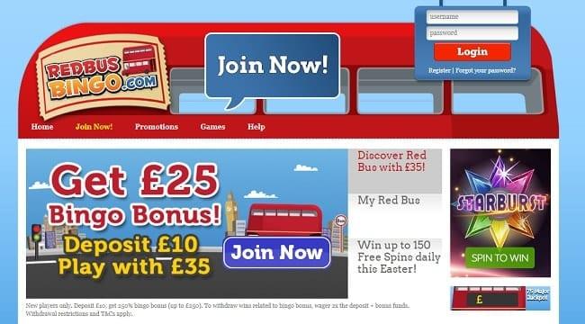 Red Bus Bingo Reviews