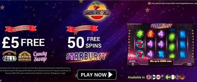 Slot Fruity Reviews