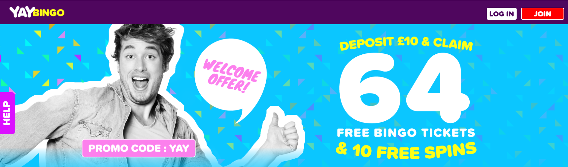 Yay Bingo Sign Up Offer