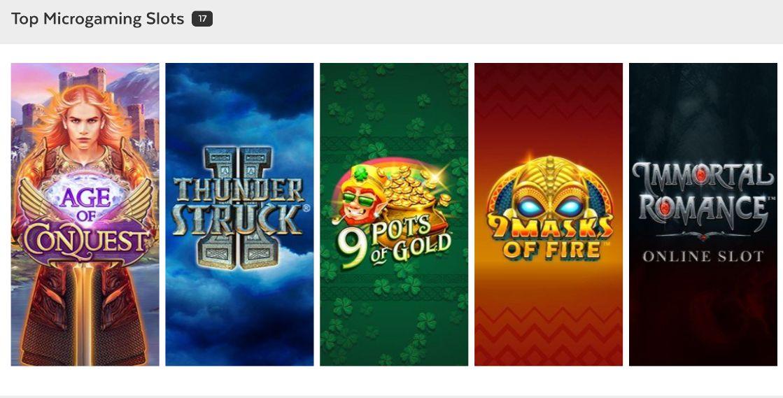 32 Red Microgaming Slots Games