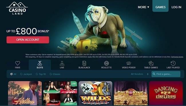 Casino Land Reviews