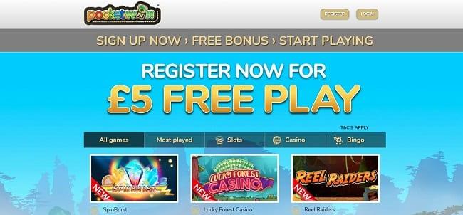 Pocketwin Casino Reviews