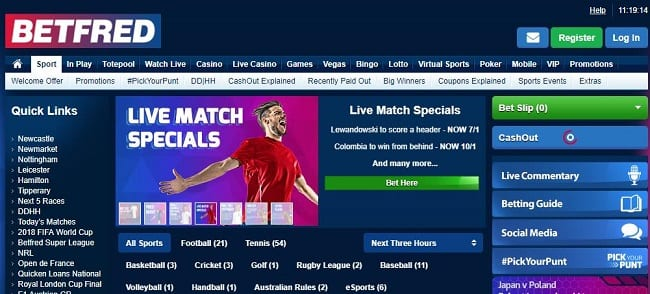 Betfred Sports Reviews