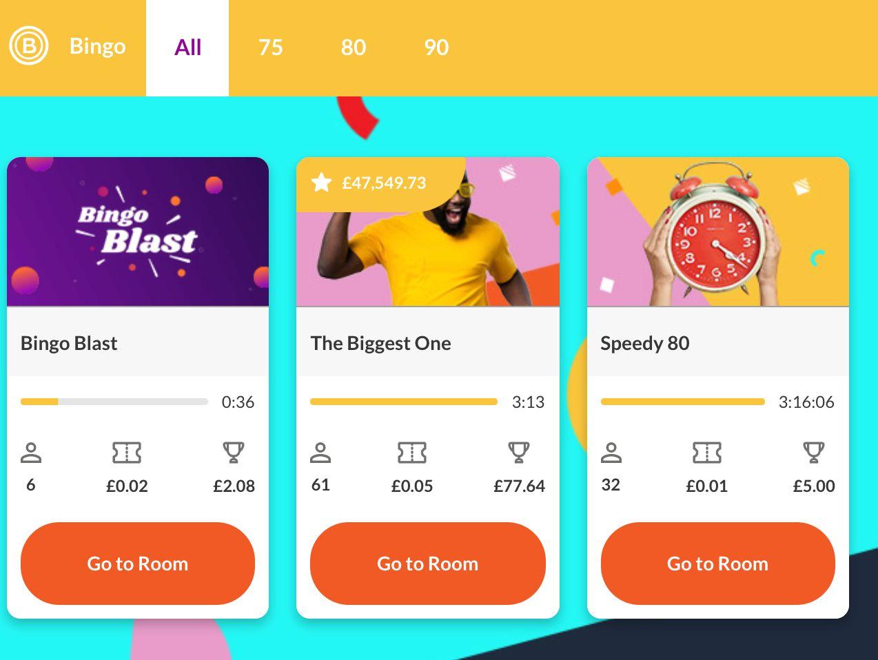 Bogof Bingo Online Games