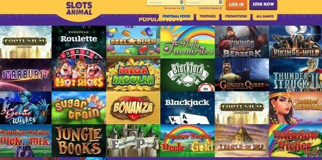 Slots Animal Reviews