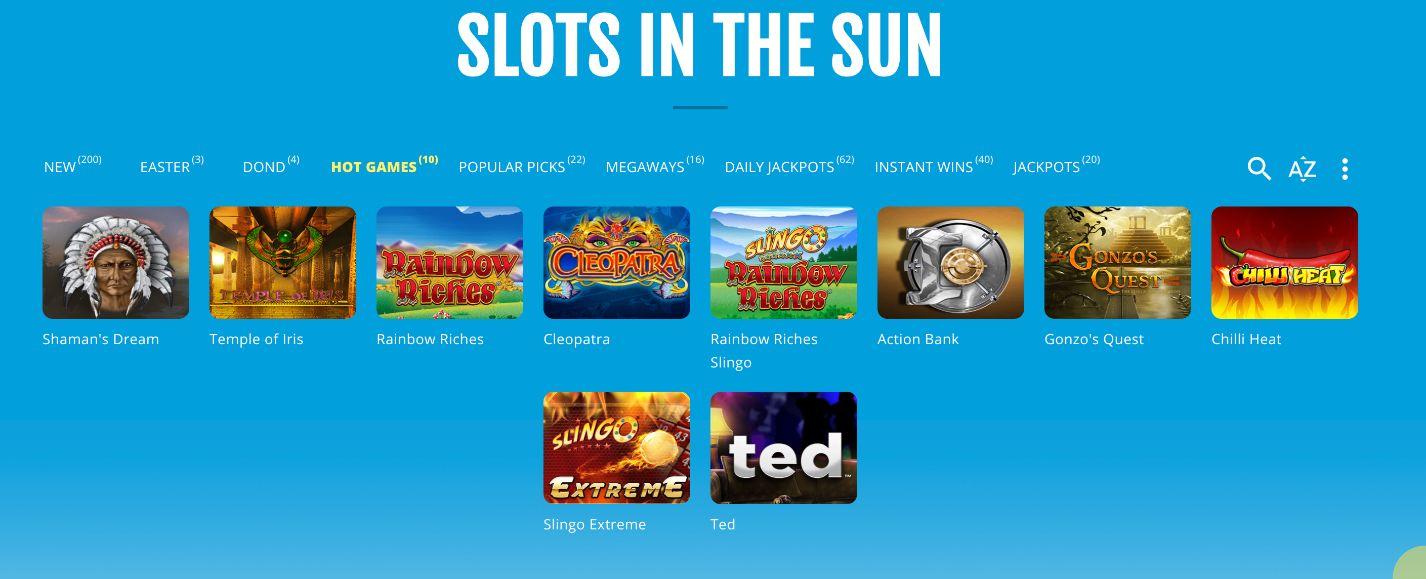 Costa Bingo Slot Games
