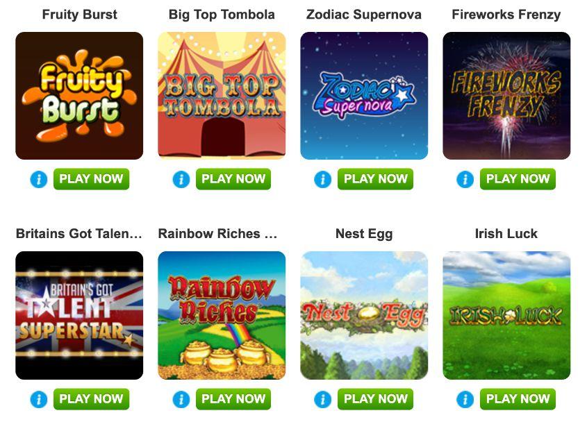 Boyle Sports Bingo Hot Slot Games