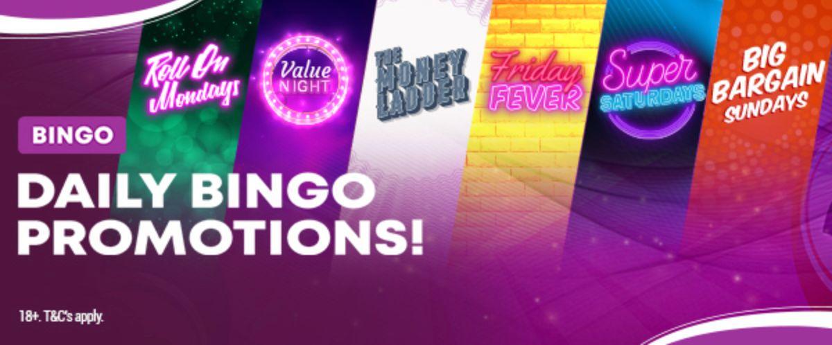 Boyle Sports Bingo Promotions