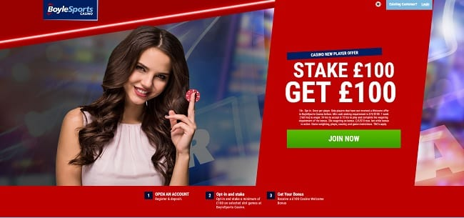 BoyleSports Casino Reviews