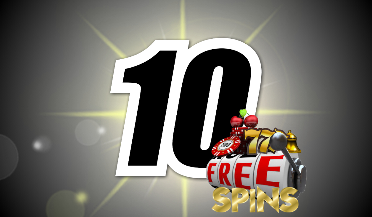 10 free spins