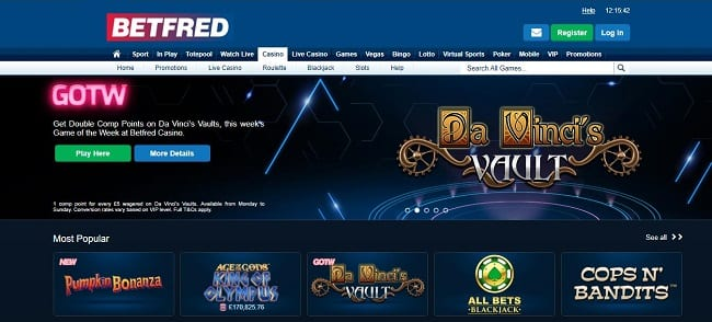 Betfred Casino Reviews