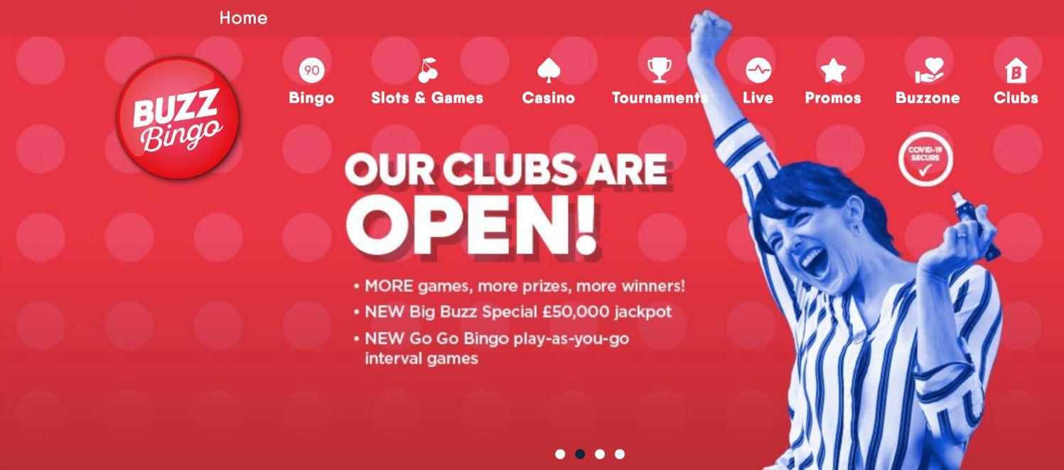Buzz Bingo Website