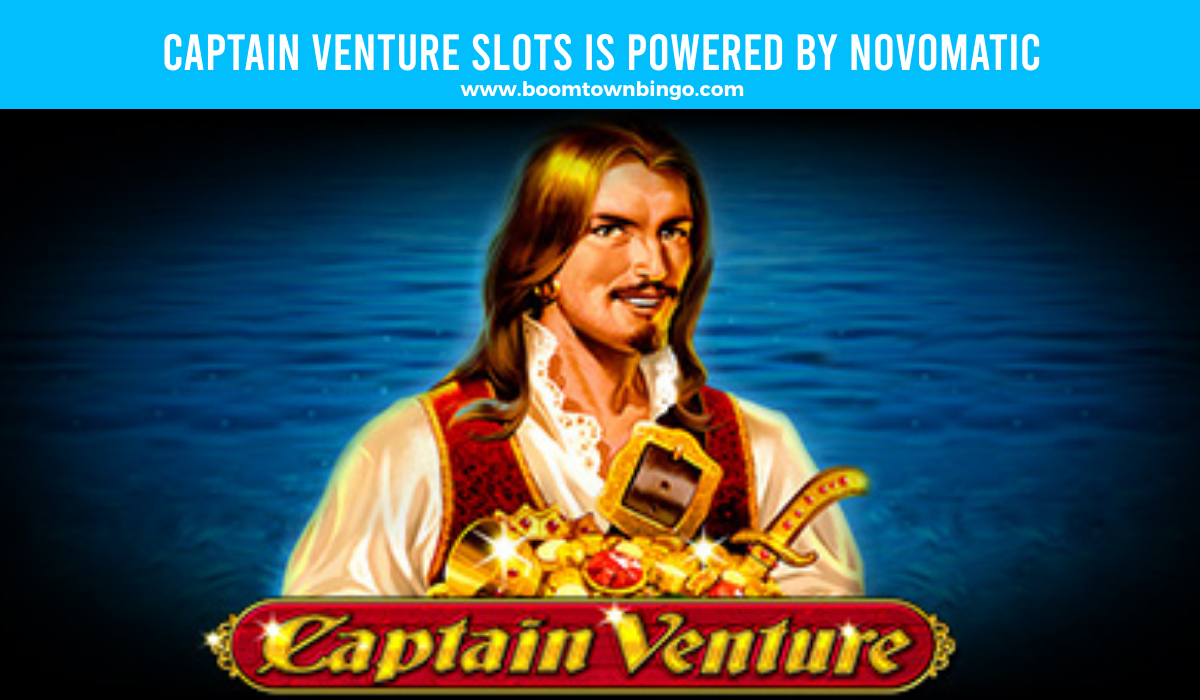 Captain Venture Slots is made by Novomatic