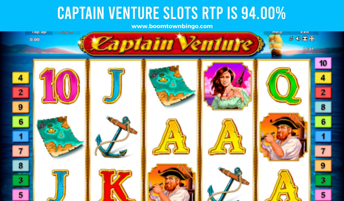 Captain Venture Slots Slots Return to player